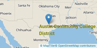 Location of Austin Community College District