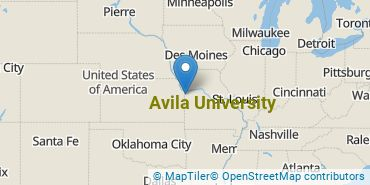 Location of Avila University