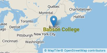 Location of Babson College