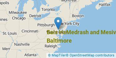 Location of Bais HaMedrash and Mesivta of Baltimore