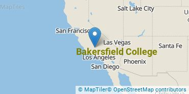 Location of Bakersfield College