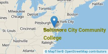 Location of Baltimore City Community College