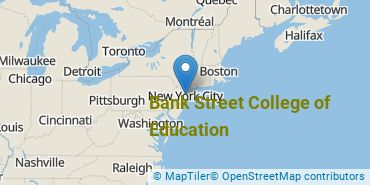 Location of Bank Street College of Education