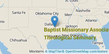 Location of Baptist Missionary Association Theological Seminary