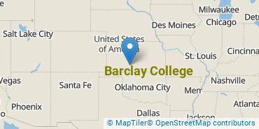 Location of Barclay College
