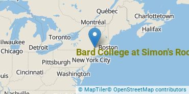 Location of Bard College at Simon's Rock