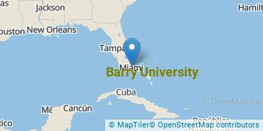 Location of Barry University