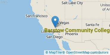 Location of Barstow Community College