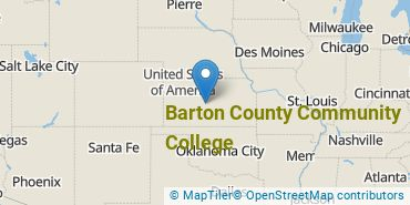 Location of Barton County Community College