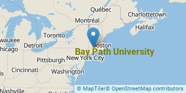 Location of Bay Path University