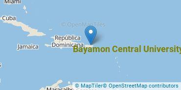 Location of Bayamon Central University