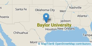 Location of Baylor University