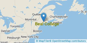 Location of Beal College