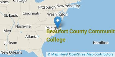 Location of Beaufort County Community College