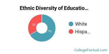 Ethnic Diversity of Education Majors at Becker College