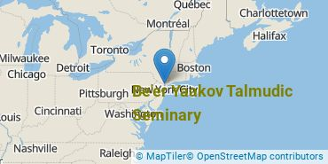 Location of Be'er Yaakov Talmudic Seminary