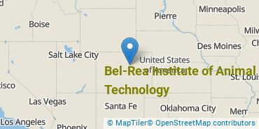 Location of Bel-Rea Institute of Animal Technology
