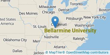 Location of Bellarmine University