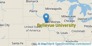 Location of Bellevue University