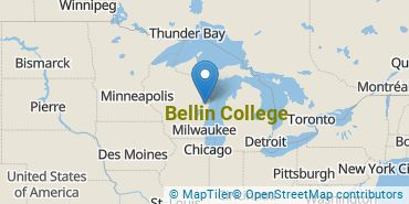 Location of Bellin College