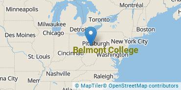 Location of Belmont College