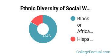 Ethnic Diversity of Social Work Majors at Benedict College