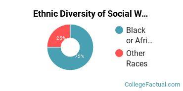 Ethnic Diversity of Social Work Majors at Bennett College