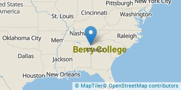 Location of Berry College