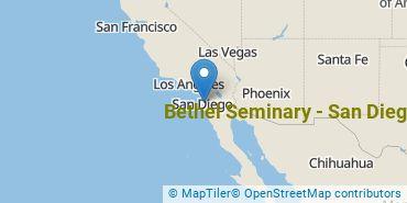Location of Bethel Seminary - San Diego