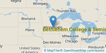 Location of Bethlehem College & Seminary
