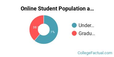 Online Student Population at Beulah Heights University