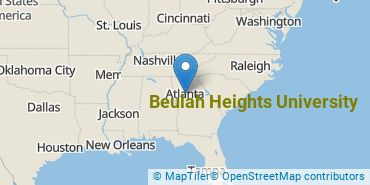 Location of Beulah Heights University