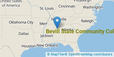 Location of Bevill State Community College
