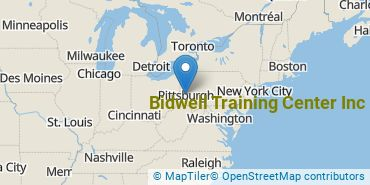 Location of Bidwell Training Center Inc