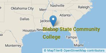 Location of Bishop State Community College