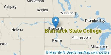 Location of Bismarck State College