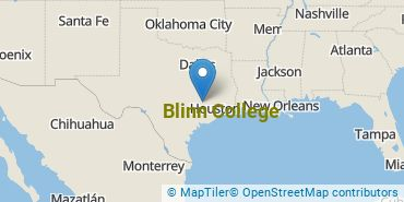 Location of Blinn College