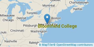 Location of Bloomfield College