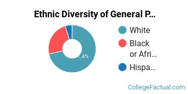 Ethnic Diversity of General Psychology Majors at Blue Mountain College