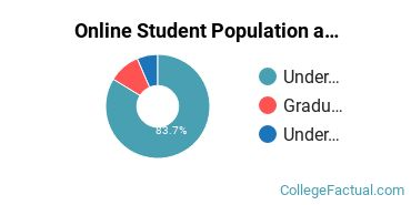 Online Student Population at Bluefield College