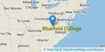 Location of Bluefield College