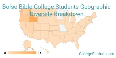 Where are Boise Bible College Students From?