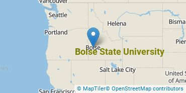 Location of Boise State University
