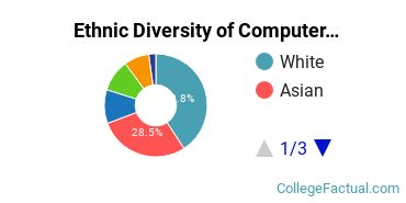Ethnic Diversity of Computer & Information Sciences Majors at Boston College