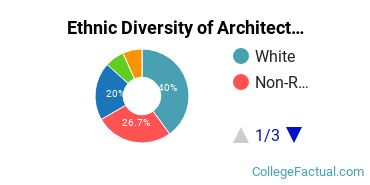 Ethnic Diversity of Architectural History Majors at Boston University