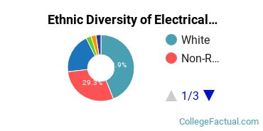 Ethnic Diversity of Electrical Engineering Majors at Boston University