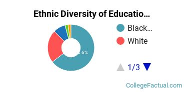Ethnic Diversity of Education Majors at Bowie State University