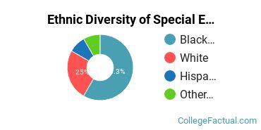 Ethnic Diversity of Special Education Majors at Bowie State University