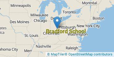 Location of Bradford School