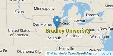 Location of Bradley University